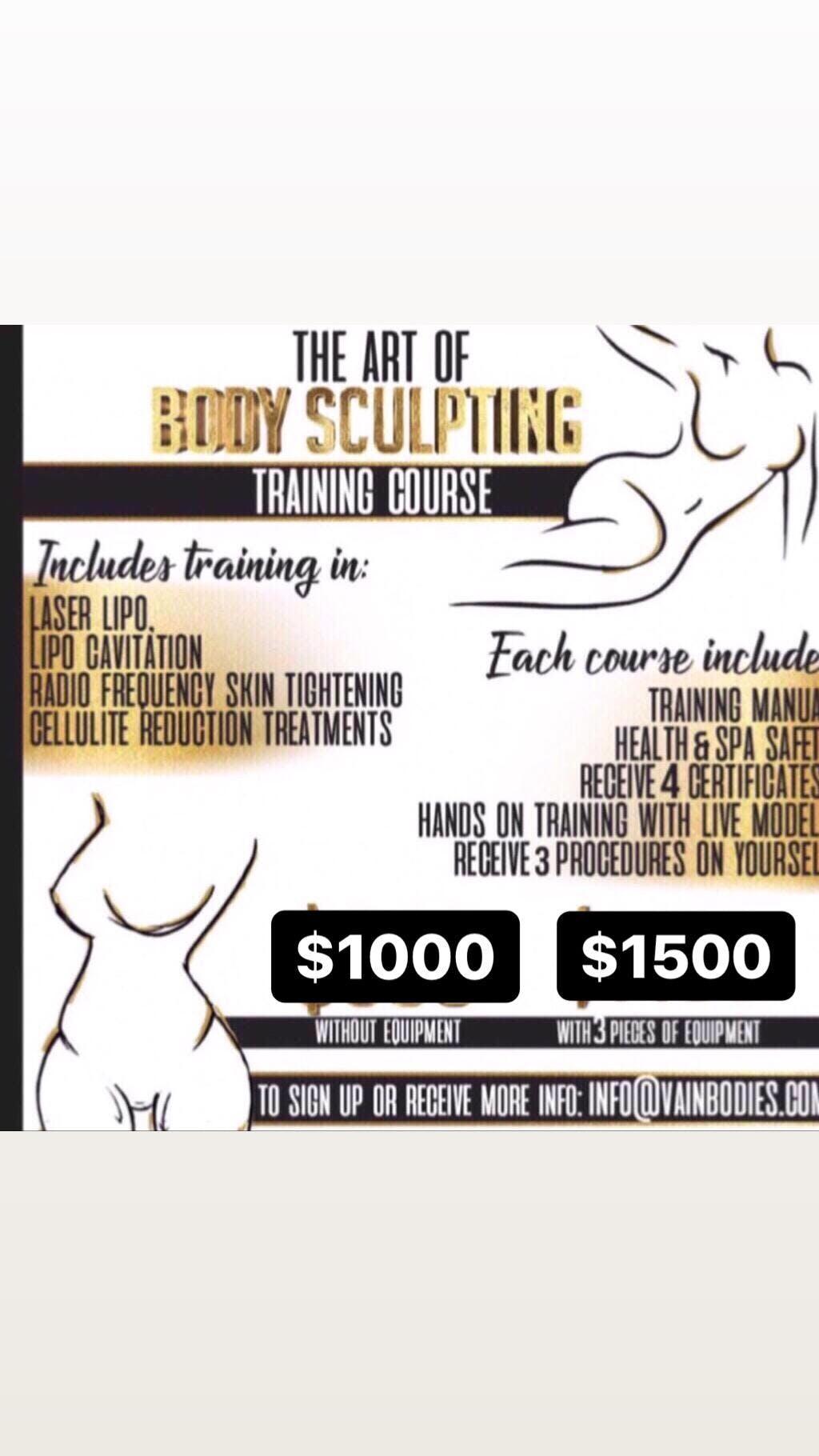 The Art Of Body Sculpting Class- West Palm Beach