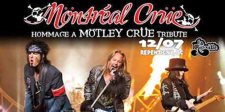 Mötley Crüe Tribute par Möntréal Crüe à Repentigny tickets