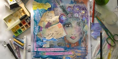 Mixed Media Workshop Art for Adults