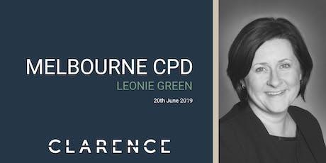 Leonie Green: giving/receiving feedback & effective delegation tickets
