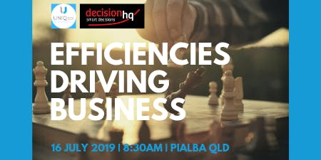 Efficiencies Driving Business