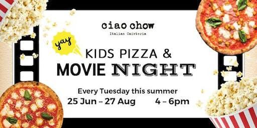 Kids Pizza & Movie Night