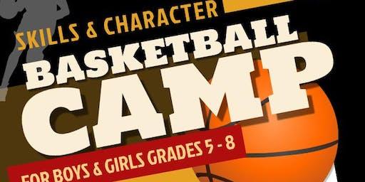 Skills and Character Basketball Camp