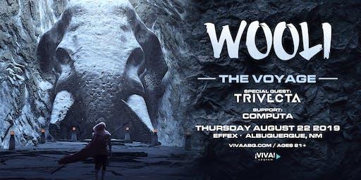 WOOLI: The Voyage Tour feat Trivecta + Computa (Albuquerque, NM)
