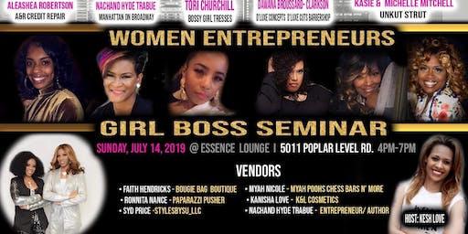 Girl Boss Seminar
