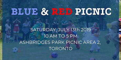 EXATEC Ontario Annual Picnic: Blue and Red tickets