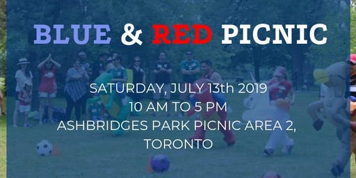 EXATEC Ontario Annual Picnic: Blue and Red