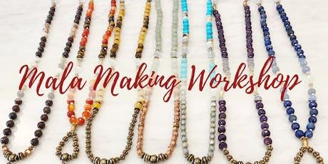Chakra Balancing Mala Making Workshop tickets