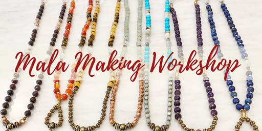 Chakra Balancing Mala Making Workshop