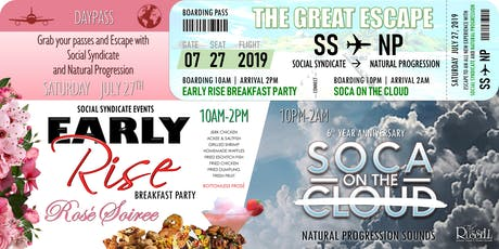 The Great Escape: Early Rise Breakfast Party X SOCA on the Cloud tickets