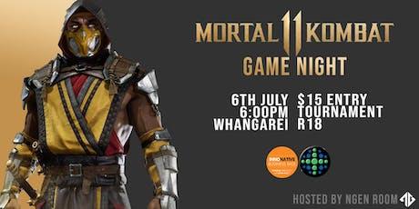 Northern Clash: Mortal Kombat 11 Game Night tickets