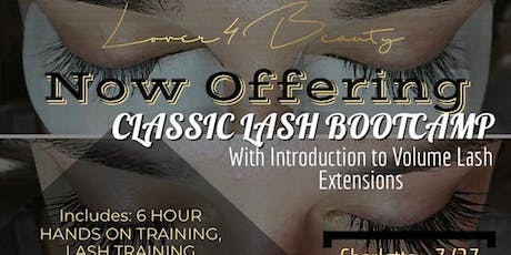 Classic Lash BOOTCAMP: Intro to Volume Lashes tickets