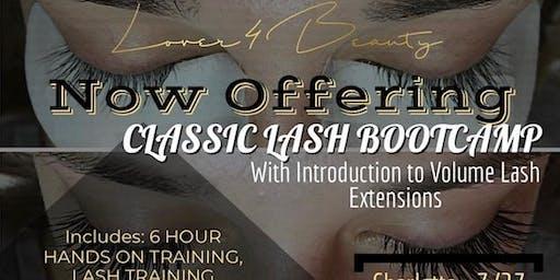 Classic Lash BOOTCAMP: Intro to Volume Lashes