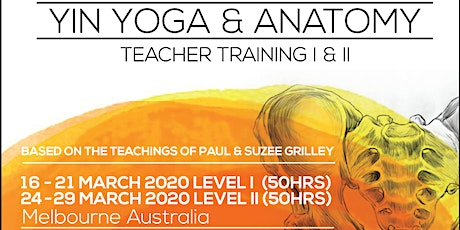 LEVEL I (50hrs) - 200hrs Yin Yoga & Anatomy Teacher Training with Markus Giess(Germany)&Karin Sang(New Zealand) tickets
