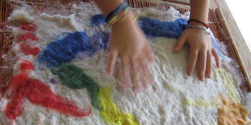 Sculpted Felt Creatures - Workshop for 6 – 8 year olds