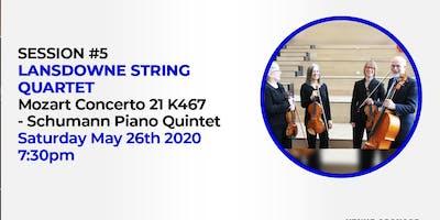 STUDIO SESSIONS (vol 2) V - Lansdowne String Quartet x John Kofi Dapaah
