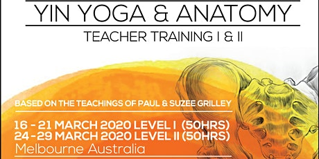 LEVEL II (50hrs) - 200hrs Yin Yoga &Anatomy Teacher Training with Markus Giess(Germany)&Karin Sang(New Zealand) tickets