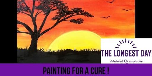 Charity Paint & Sip for Alzheimer's