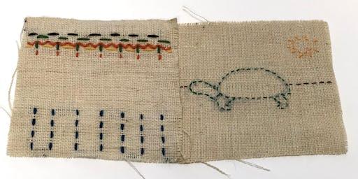Stitch to Stitch - Workshop for 6 – 8 year olds