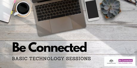 Be Connected Basic Technology Session - Ballarat Library tickets