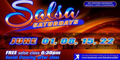 FREE Salsa Dance Lesson and Social EVERY SATURDAY Saddleback Irvine South
