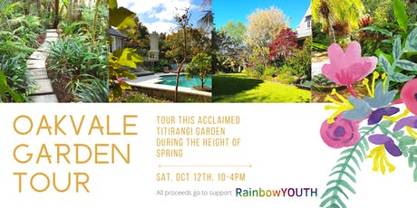 Oakvale Garden Tour tickets