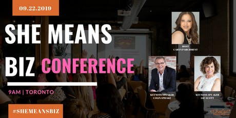 5th Annual She Means Biz Conference tickets