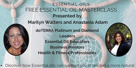 Daily Wellness Habit with Essential Oils July tickets