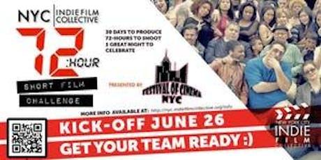 NYC   Indie Film Collective - June 26, 2019 Meetup & 72-Hour Short Film Challenge Kick Off tickets