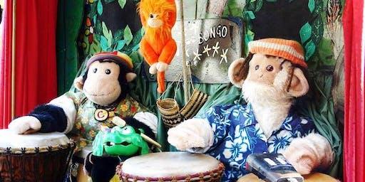 Amazing Drumming Monkeys @ Cove Civic Centre