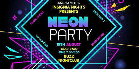 insignia nights neon party tickets
