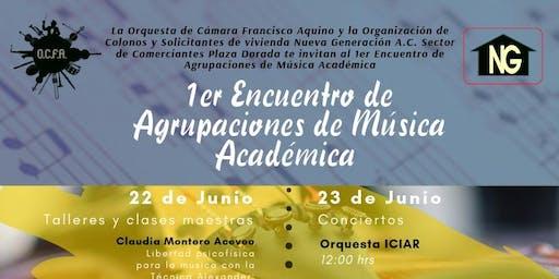 1er Encuentro de Agrupaciones de Música Académica