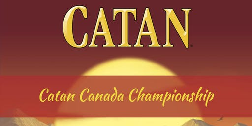 2019 Catan National Qualifier at Hexagon Cafe (Calgary)