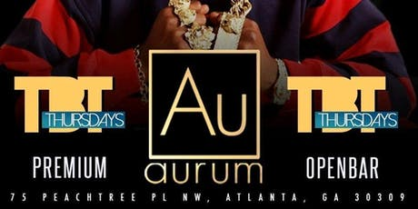 Aurum Throw Back Thursdays tickets