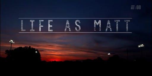 PFLAG Collingswood Summer Series: Life As Matt
