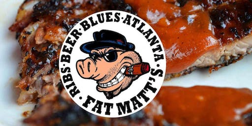 LIVE BLUES WITH BLUES IN THE HOUSE AT FAT MATT'S RIB SHACK