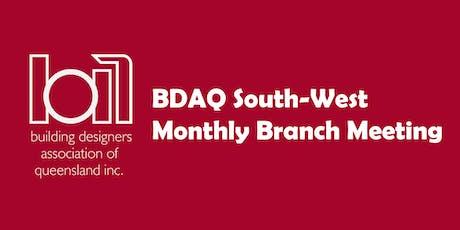 BDAQ SW Branch Meeting - June 2019 tickets