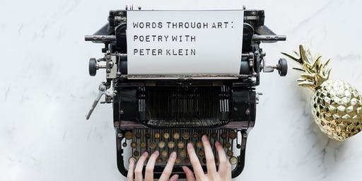 Words through Art: Poetry with Peter Klein