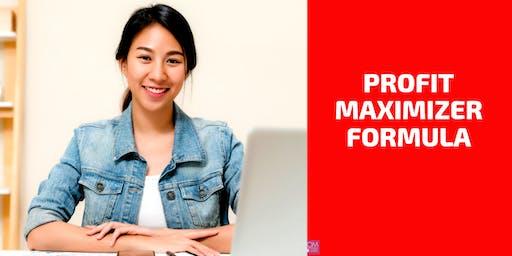 FREE WORKSHOP: Profit Maximizer Formula