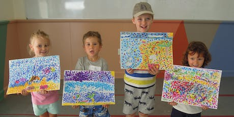INK BLOW DRAWINGS (ink drawing) for 5-8 year olds tickets