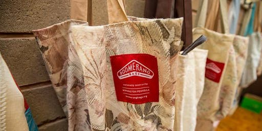 Eco Living Display Centre Workshop - Make Your Own Boomerang Bag