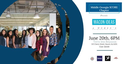 Macon Ideas Women Entrepreneurs Networking Event