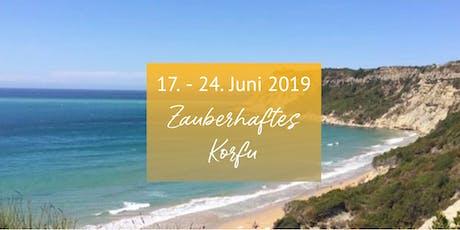 Zauberhaftes Korfu - Urlaubsseminar im Juni 2019 Tickets