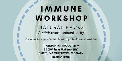 Workshop: IMMUNE HEALTH!