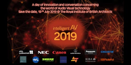 Intelligent AV iAV19 tickets