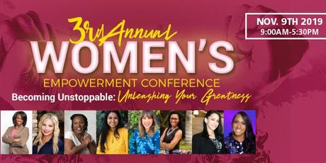 The Unleashed Woman: 2019 Women's Empowerment Conference tickets