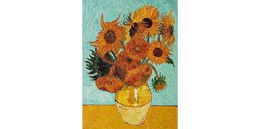Van Gogh Sunflowers - Cheekyburger