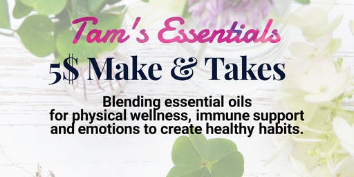 Tam's Oils and Balancing Emotions