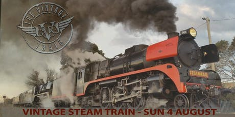 Sunday 4 August 2019 - Vintage Steam Train - Moe / Traralgon tickets