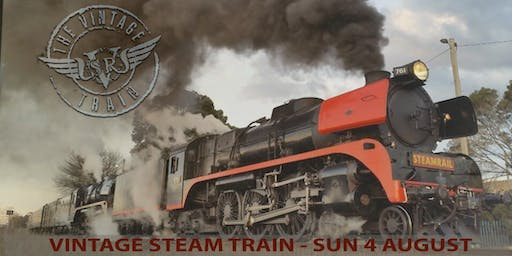 Sunday 4 August 2019 - Vintage Steam Train - Moe / Traralgon